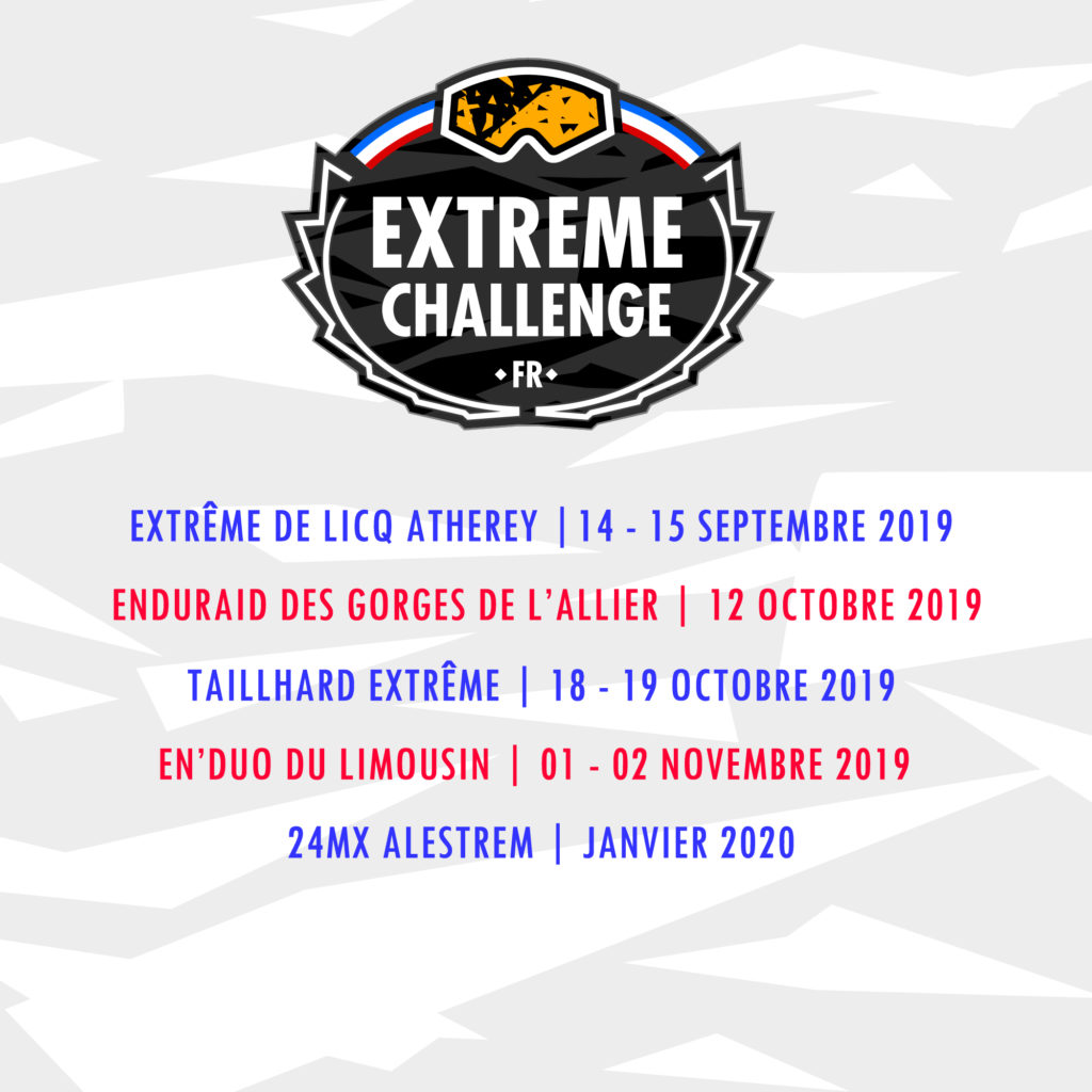 Calendrier Extreme Challenge 2019